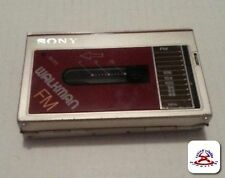 SONY WM-F10 Walkman tape and FM radio Not working For Parts Only.........(C16B2)