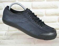 VAGABOND Black Textile Mens Shoes Trainers Sneakers Lace-Up Size 10 UK 44 EU