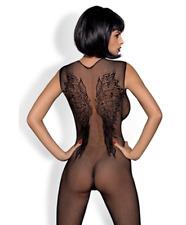 N113 Size XS S M L Plus XL Sexy Lingerie Underwear Night Club Dress Bodystocking
