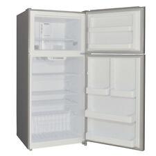 Smad 18.3 Cu. Ft. Top Freezer Refrigerator Stainless Steel Reversible Door