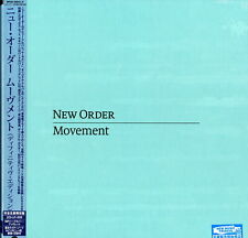 NEW ORDER-MOVEMENT-IMPORT 2 CD+DVD+LP+BOOK WITH JAPAN OBI Ltd/Ed AZ50