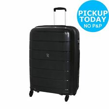 It Luggage Asteroid Large 4 Wheel Hard Suitcase - Black