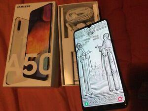 Samsung Galaxy A50 - 128Go - Blanc (Désimlocké) (Double SIM) +sd512
