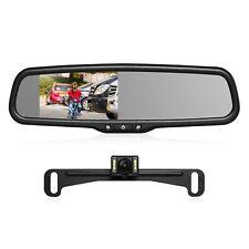 Car Rear View Kit 4.3'' LCD Mirror Monitor + LED Night Vision Backup Camera Kit