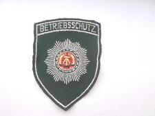 DDR policía Patch/insignia para uniforme-chaqueta protección de funcionamiento Police Patch