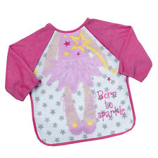 Babytown Terry Bib With Sleeves Pink Princess