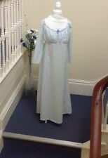 Regency Long Sleeves Gown Made To Order In Your Precise Size.