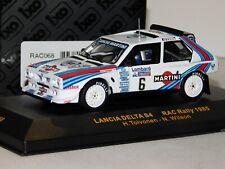 LANCIA DELTA S4 #6 TOIVONEN RAC RALLY 1985 IXO RAC068 1/43