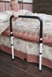 Adjustable New Medical Height Home Bed Rail Elderly Adult Handicap Handle Assist