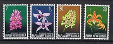 Papua New Guinea 1974 Orchids MNH