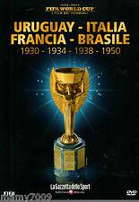 FIFA WORLD CUP=I FILM DEI MONDIALI=1930-34-38-50=Uruguay Italia Francia Brasile