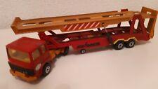 Majorette Renault Saviem Truck with Cartransporter 1:60