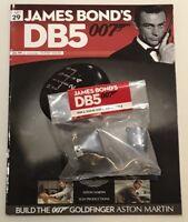 JAMES BOND 007 - ASTON MARTIN DB5 - 1:8 SCALE BUILD - GOLDFINGER - CAR PART 29