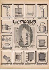 Publicité Advertising 026 1918 Paz & Silva appareils de chauffage