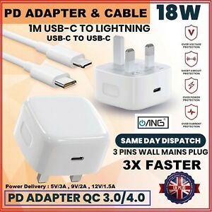 Usb C Power Charger Ang Type C Fast Charger/Plug/Adaptor/Iphone12 charger&Cable