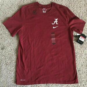 Mens Nike NCAA Alabama Crimson Tide Football Shirt Maroon CT8182-613 Sz XL NWT