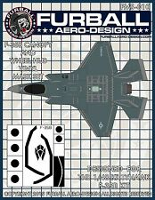 1/48 Furball F-35B Lightning II Vinyl Mask Set for the Kittyhawk Kit