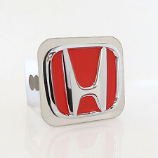 Honda Red Logo Tow Trailer Hitch Cover Plug