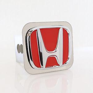 Honda Red Logo Tow Trailer Hitch Cover Plug