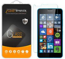 2X Supershieldz Tempered Glass Screen Protector Saver For Microsoft Lumia 640