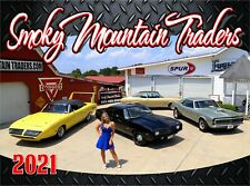 2021 Smoky Mountain Traders Calendar | Classic Car Calendar Memorabila