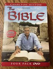 Charlton Heston Presents the Bible - Complete 4 DVD Box set - 5+ hours