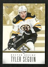2012-13 Limited GOLD card # 104 TYLER SEGUIN Serial # 20 of 25