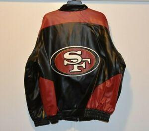 NOS NWT older release San Francisco 49ers NFL Football G-III Mens Jacket size XL