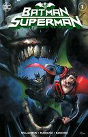 BATMAN SUPERMAN #1 CLAYTON CRAIN VARIANT DC COMICS 2019 BATMAN WHO LAUGHS W/COA
