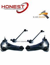 For RENAULT TRAFIC 01-10 FRONT LOWER SUSPENSION ARMS & STABILISER LINK BARS X2