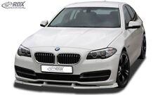 RDX Spoilerlippe für 5er BMW F10 F11 Facelift Touring Front Ansatz Schwert Lippe