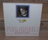 J.Sibelius / 6 symphonies (coffret 6 vinyls) karajan / kamu (orchestre berlin)