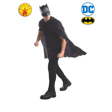Rubie's Official Batman Adult Mask and Cape One Size
