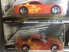 ONE Hot Wheels Premium Fast & Furious Red Mazda RX-7/RX7 1995/HW/Real Riders/95