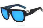 DUBERY Men Square Polarized Sunglasses Driving Goggles Sport Cycling Glasses