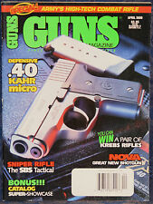 Magazine *GUNS* April, 2000 ! Steyr SBS Tactical RIFLE !, *BENELLI Nova SHOTGUN*