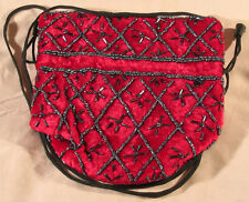 """Exquisite, unusual Vintage velvet Glass purses-""""glass-bead"""" bags-sumptuous"""