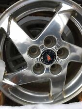 04 06 GRAND PRIX WHEEL 16X6-1/2 ALUMINUM 5 SPOKE POLISHED OPT QP1 276874