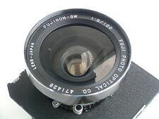 Fujinon (Fuji) SW 120mm/F 8.0 Objektiv, Seiko Verschluss, Wista Lensboard