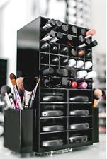 Acrylic rotating lipstick display stand /cosmetic organizer