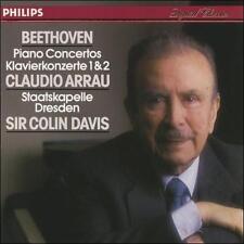 Beethoven Piano Concerto 1 & 2 / Claudio Arrau / Staatskapelle Dresden / Sir Col