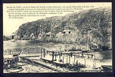 Carte Postale Ancienne VAUX devant DAMLOUP (Meuse) LE FORT Guerre 1916 Combat