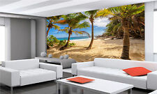 Tropical Anse Intendance Beach Wall  Photo Wallpaper GIANT WALL DECOR Free Glue