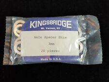 Kingsbridge Bicycle 3mm Axle Spacer Shim Alloy Pack Of 20 Cycling Vintage