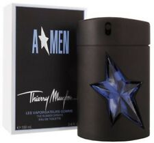 ANGEL AMEN 100ML EDT(Rubber ) Refillble Spray For Men ByTHIERRY MUGLER ( A*MEN )