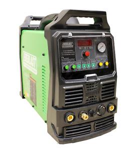 PowerPro 164Si 160AMP ACDC TIG STICK PULSE WELDER 40a plasma cutter by EVERLAST