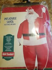 Inflatable Christmas Santa Costume for Adults, One Size #179
