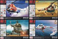 PZL/MIL Mi 2 T/RL/URN/RM HOPLITE (WARSAW PACT MKGS) 1/48 AEROPLAST