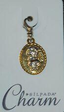 SILPADA Sterling Silver Charm Collection - Sweet Pea - C2547 - NIB!