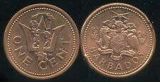 BARBADE 1 cent 1996   ( bis )